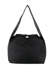 Kara Cloud Shoulder Bag Black