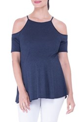 Olian Women's Open Shoulder Maternity Top