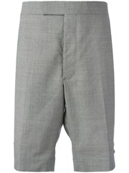 Thom Browne Houndstooth Shorts White