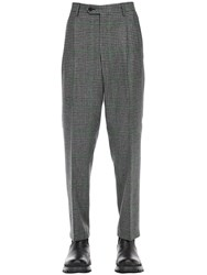 Lc23 Galles Pleated Wool Pants Grey