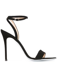 Giuseppe Zanotti Design Ankle Strap Stiletto Sandals Black
