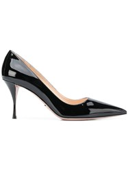 Prada Point Toe Pumps Black