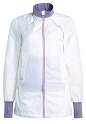 Casall Sports Jacket White