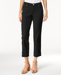 Styleandco. Style Co. Cuffed French Birch Wash Jeans Only At Macy's Deep Black