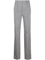 Acne Studios High Waisted Striped Trousers 60