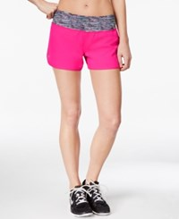 Ideology Woven Speed Shorts Only At Macy's Pink Hustle