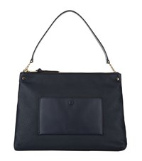 Sandro Bianca Zip Top Tote Female Black
