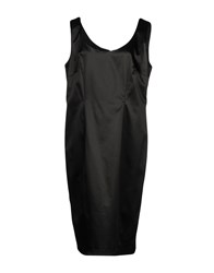 Gai Mattiolo Knee Length Dresses Black