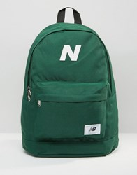 New Balance Mellow Backpack In Green Blue