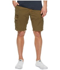 Lucky Brand Stretch Sateen Cargo Shorts Olive Night Men's Shorts Green