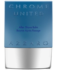 Azzaro Chrome United Aftershave Balm 2.6 Oz
