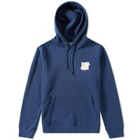 Undefeated Chest Strike Pullover Hoody Blue