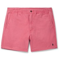 Polo Ralph Lauren Washed Cotton Blend Twill Shorts Pink
