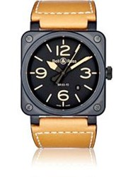 Bell And Ross Br 03 92 Heritage Watch Brown