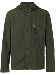 C.P. Company Cp Hooded Jacket Green