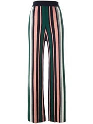 Chinti And Parker Ribbed Intarsia Trousers