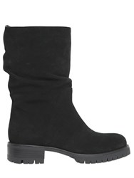 Dkny 40Mm Marley Suede And Shearling Boots
