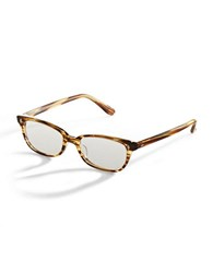 Corinne Mccormack 50Mm Cyd Reading Glasses Brown Yellow