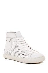 Diesel Off Your Rocker Perforated Sneaker White