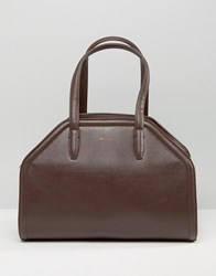 Matt And Nat Structured Tote Bag Cocoa Brown