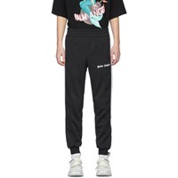 Palm Angels Black Classic Track Pants