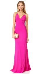 Ramy Brook Chantal Gown Paradise Pink