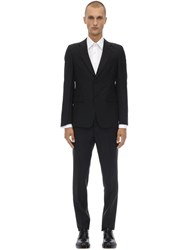 Prada Wool And Mohair Tuxedo Suit Black