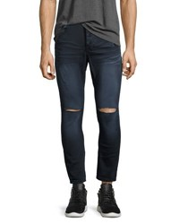 One Teaspoon Mr. Blues Whiskered Knee Cut Jeans