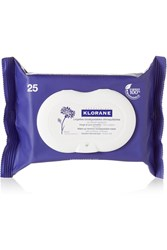 Klorane Makeup Remover Biodegradable Wipes With Soothing Cornflower X 25 Colorless