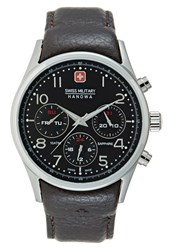 Swiss Military Hanowa Navalus Watch Darkbrown Dark Brown