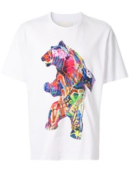 Juun.J Bear T Shirt White