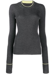 Maison Martin Margiela Glove Sleeve Jumper Grey