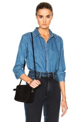 Mih Jeans M.I.H Loose Shirt In Blue