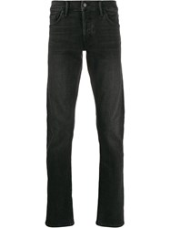 Tom Ford Faded Slim Jeans Black