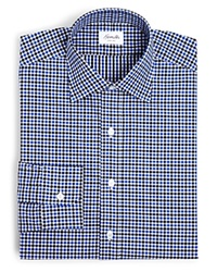 Hamilton Exploded Check Classic Fit Dress Shirt 100 Bloomingdale's Exclusive