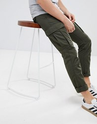 Produkt Cargo Trousers Forest Night Green