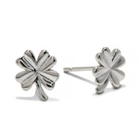 Enelle Clover Stud Silver