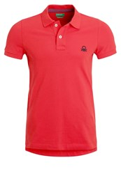 United Colors Of Benetton Polo Shirt Red