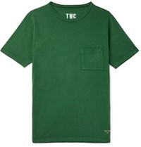 The Workers Club Cotton Jersey T Shirt Green