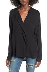 Leith Women's Drape Placket Top