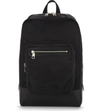 Neil Barrett Kefiah Camouflage Backpack Black
