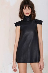Nasty Gal Holystone One For The City Leather Dress