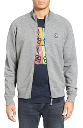 Psycho Bunny Men's Zip Jacket Grey
