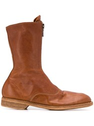 Guidi Front Zipped Boots 60