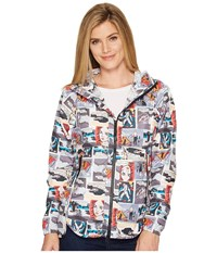 The North Face Flyweight Hoodie Glamping Print Women's Sweatshirt Multi