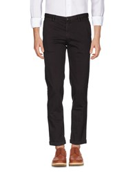 Fred Perry Casual Pants Dark Brown