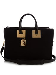 Sophie Hulme Cromwell Canvas Tote Black