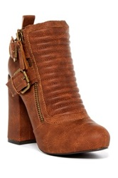 Penny Loves Kenny Alston High Heel Bootie Brown