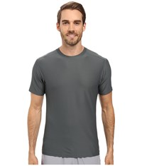 Exofficio Give N Go Tee Charcoal Men's Short Sleeve Pullover Gray