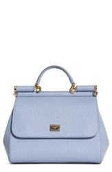 Dolce And Gabbana 'Small Miss Sicily' Leather Satchel